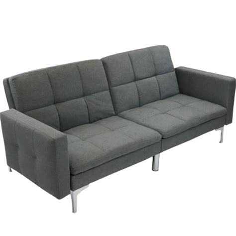 Buy Sofa Canada by Viscologic Noble Split Back Convertible Futon Sofa Bed