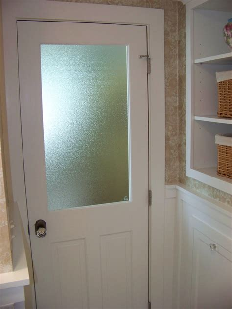 glass panel interior doors bathroom interior eye catching