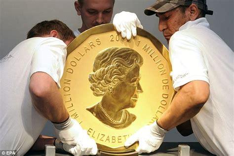cadenas de oro raras la moneda de oro m 225 s grande del mundo vendida