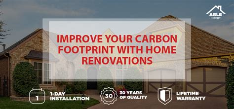 Home Renovations That Increase Your Improve Your Carbon Footprint With Home Renovations
