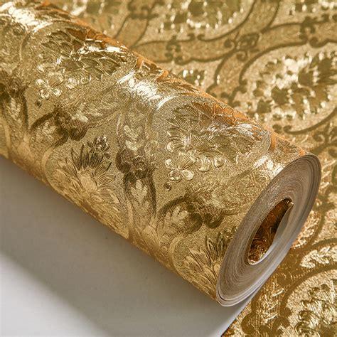 kertas dinding emas online buy grosir dinding bahan isolasi panas from china