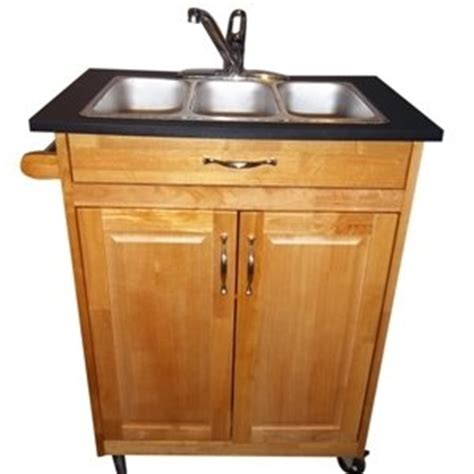 shoo bowl portable self contained sink three compartment self contained portable sink model psw