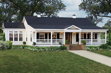 ranch home plans with front porch hip roof front porches for ranch style homes notice how