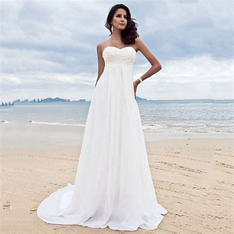 white wedding dresses cheap cheap sweetheart white wedding dress 100 with floor