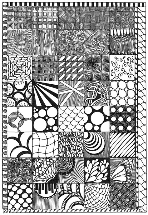 pattern of doodle zentangle sler patterns doodles and zentangles