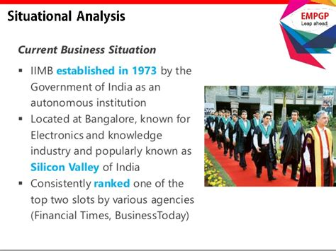 Mba Present Situation by Marketing Iimb As A Global Mba Destination For
