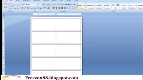 membuat label undangan di libreoffice tutorial cara membuat label undangan di ms word youtube