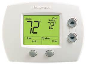 digital non programmable thermostat honeywell