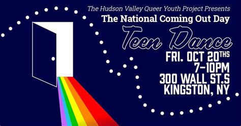 new coming out day national coming out day big hudson valley