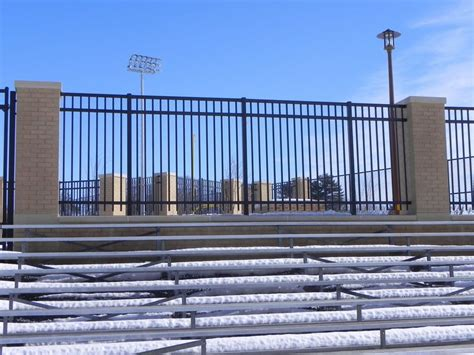 Football Fence Commercial by Parks Recreation Commercial Photo Gallery Photo