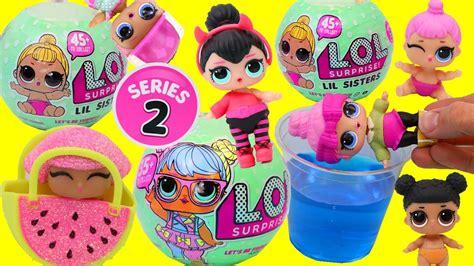 Lol L O L Doll Lil Dj new lol dolls season 2 opening with color