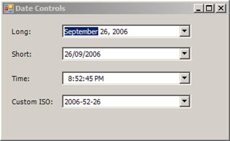 format datetimepicker datetimepicker format short time default and custom