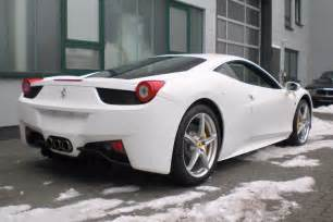 458 Italia White Alessi Automobili 2009 458 Italia White