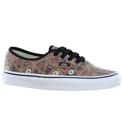 vans with pattern vans classic authentic womens ladies multicolored pattern