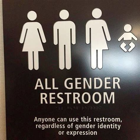 trans inclusive bathroom signs 17 best ideas about transgender bathroom sign on gender neutral bathroom signs