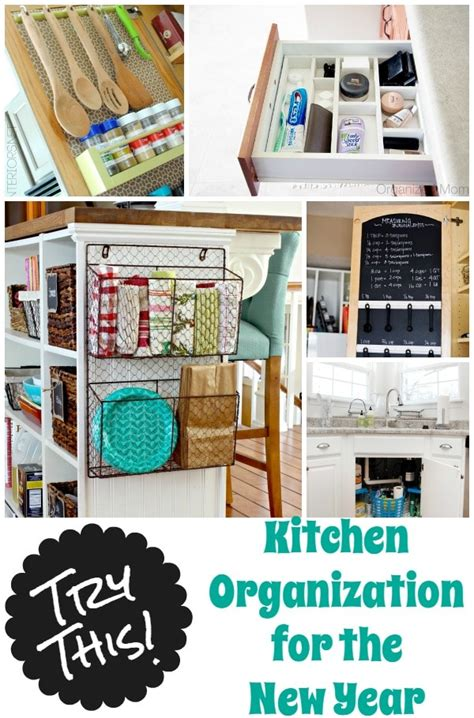 organization ideas for kitchen 36 tips for getting organized in 2016 four generations