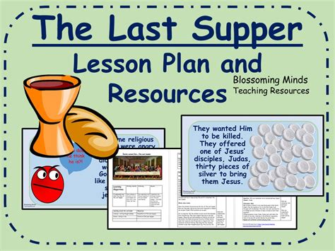 ideas for ks2 music lessons the last supper lesson plan and resources easter ks2