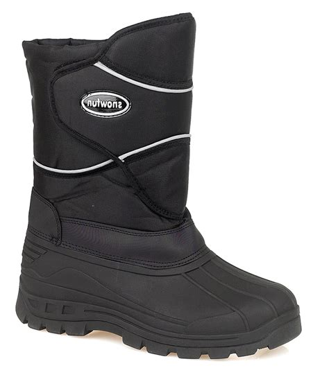 mens snow boots size 7 mens snow ski warm lined mucker wellies moon boots