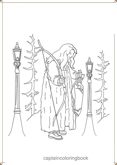 narnia coloring pages coloring page