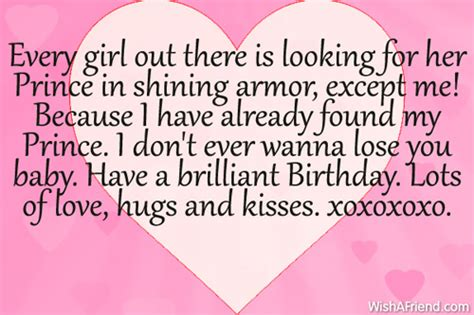 Romantic Birthday Quotes For Boyfriend Quotesgram