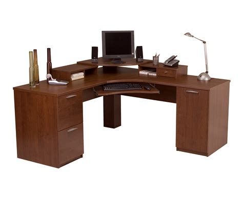 cherry wood corner desk furniture l shaped cherry wood corner computer desk