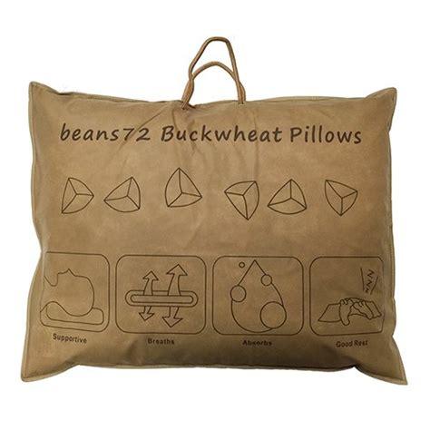 Beans72 Buckwheat Pillow beans72 organic buckwheat pillow standard size 20