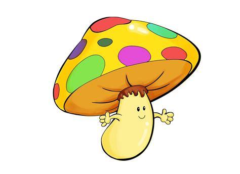 10 mewarnai gambar jamur