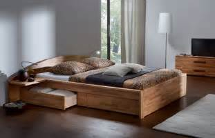 Wooden Bed Frames With Storage Uk Solid Heartbeech Solid Wooden Bed Jpeg 2 000