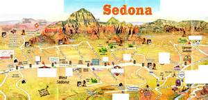 sedona az map sedona the paregien journal