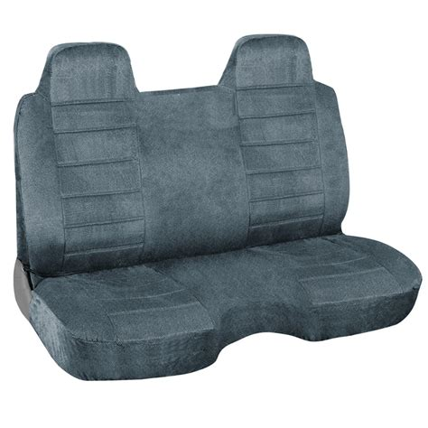 bench seat cover for truck charcoal blue regal tweed bench seat cover for pickup