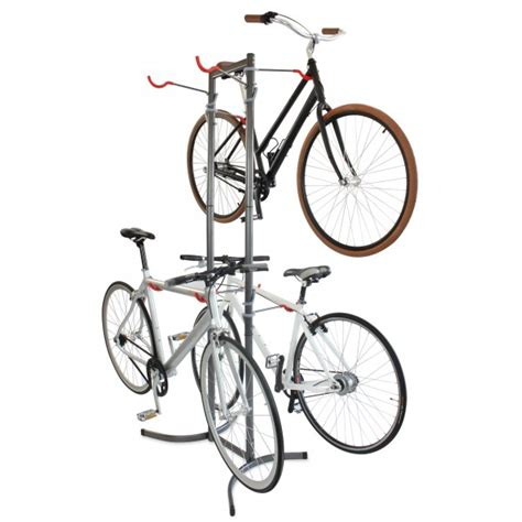 4 Bike Standing Rack by Canaletto Free Standing Four Bike Rack