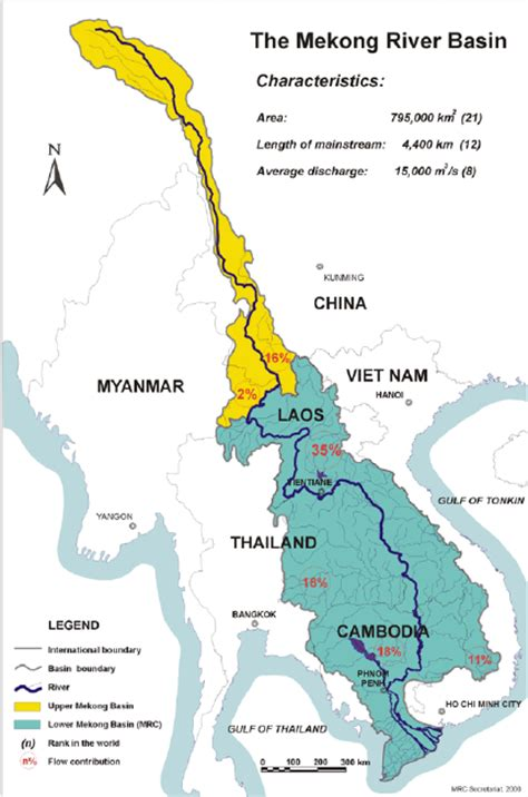 mekong river map mekong river map map3