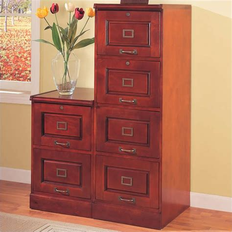 coaster palmetto cherry file w 4 drawers filing cabinet ebay