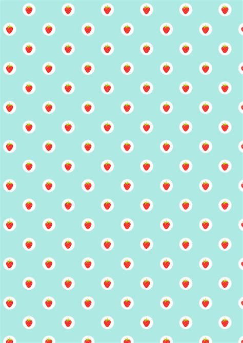 pattern paper digital free digital strawberry scrapbooking paper ausdruckbares