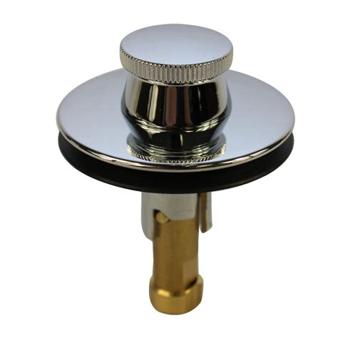 lift and turn bathtub stopper danco universal lift and turn drain stopper in chrome