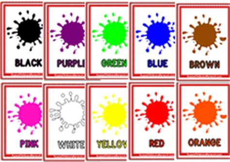 printable toddler learning flash cards 6 best images of large printable color flash cards for