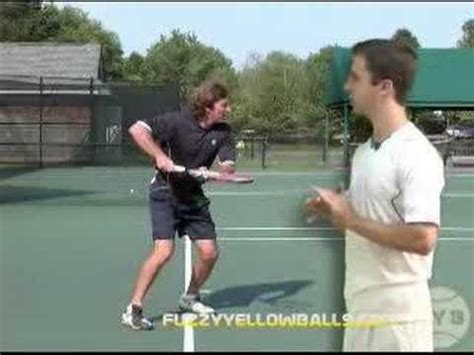 Tennis Lesson Forehand Step 5 Swing Path Youtube