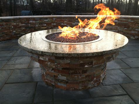 Custom Firepit Custom Pits 171 Outdoor Living Of New Jersey