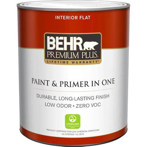 behr premium plus 1 qt base flat zero voc interior paint 130004 the home depot