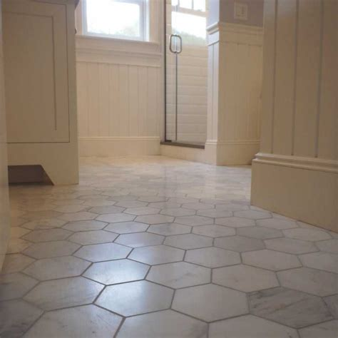 Hexagon Tile Bathroom Floor by Marble Floor Floors Design For Your Ideas Iunidaragon