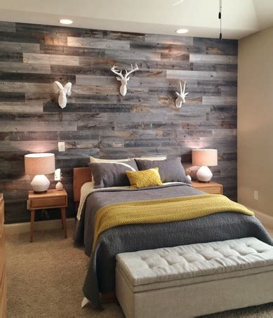 Wood Paneling For Bedroom Walls by Bedroom Wall Reclaimed Wood Paneling Home Interiors