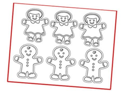 gingerbread decoration template bling 20120401