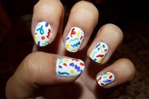 birthday themed nail art happy birthday themed nail art designs ideas