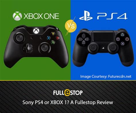 better system ps4 or xbox one sony ps4 or xbox 1 a fullestop review