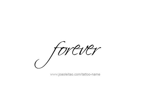 live forever tattoo designs forever feeling name designs tattoos with names