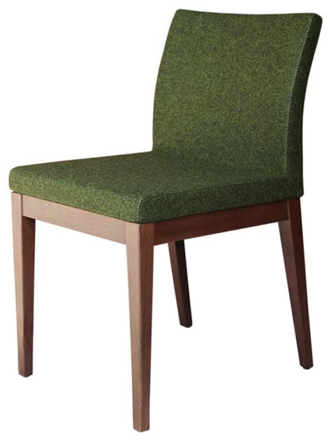 green wood dining chairs wood dining chair camira wool forest green