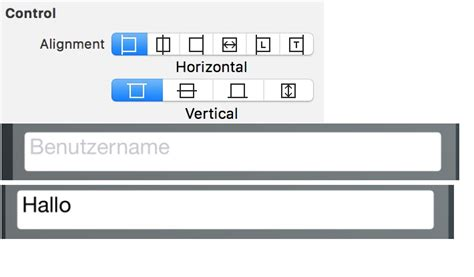 xcode vertical layout xcode ios uitextfield text wont center vertically