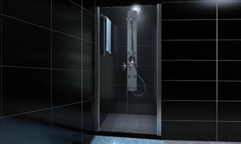 porte in vetro per doccia doppia porta vetro per box doccia groupon goods