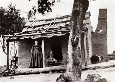 When Did House End by A Settler S House Hill End 1872 Hillend Nsw Australia