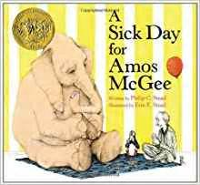 libro sick day for amos amazon fr a sick day for amos mcgee philip c stead livres